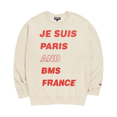 [BMS] 비엠에스 프랑스 공용 파리 맨투맨티셔츠 (GEZ2383_61)