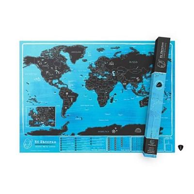[럭키스] 영국 정품 스크래치 맵 세계지도 에드 시런_(1753979)