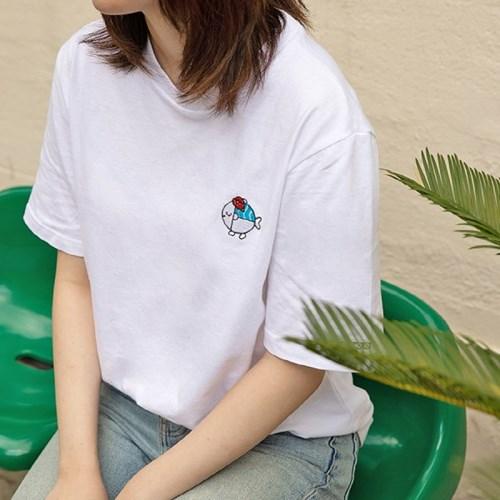 꼬등어 티셔츠