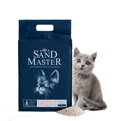 샌드마스터 크랙 고양이 두부모래 오리지널 2.8kg(7L)_(789551)