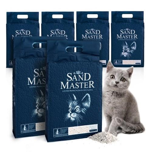 샌드마스터 크랙 고양이 두부모래 오리지널 2.8kgx6개