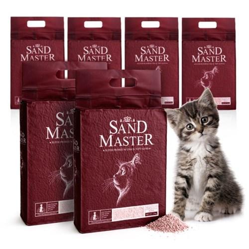 샌드마스터 크랙 고양이 두부모래 복숭아 2.8kg x 6개_(789545)