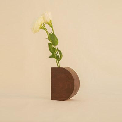 오니프 우드 화병 꽃병 onif vase