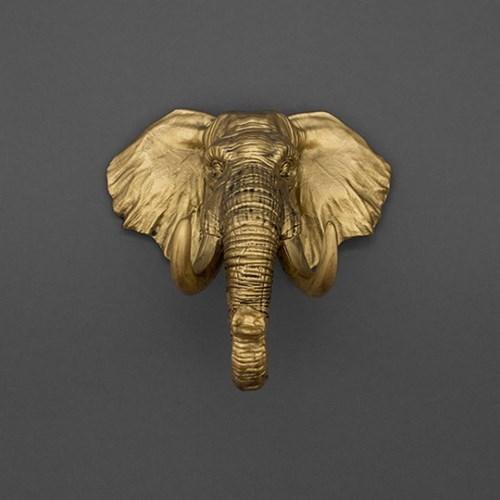 [럭키스] 다용도 코끼리 열쇠 소품 걸이_(1753973)