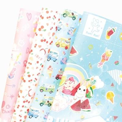 마넷 롤 포장지(단면)