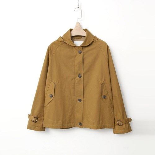 Hood Short Jacket