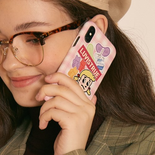 LZ IPHONE CASE 7,8(PINK)_(4063367)