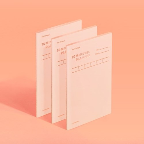 텐미닛 플래너 31DAYS - 샤인피치 3EA