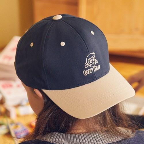 LZ LAZY BALL CAP(NAVY)_(4063371)
