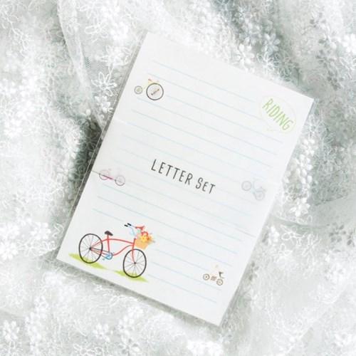 디원 자전거 편지지 (JL07)