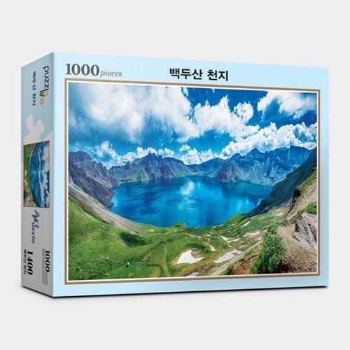 직소퍼즐1000피스 백두산 천지 PL1000-PL1400