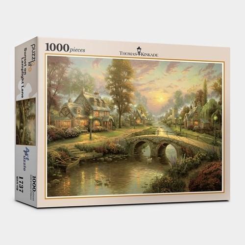 직소퍼즐1000피스 램프의 마을 PL1000-PL1737