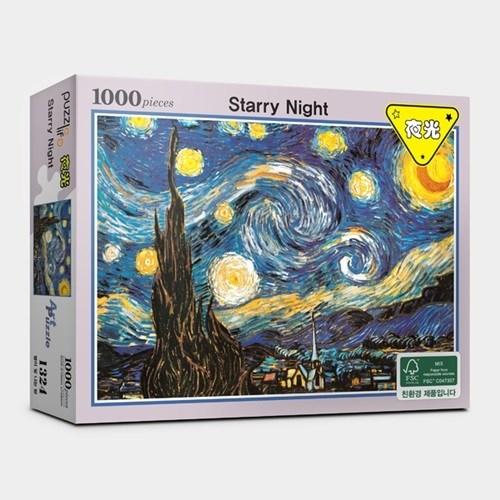 직소퍼즐 1000피스 별이 빛나는 밤 야광 PL1324