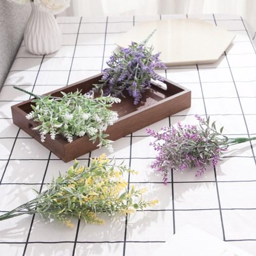 네추럴라벤다부쉬 34cm FAIAFT 조화 꽃 인테리어소품_(1461200)