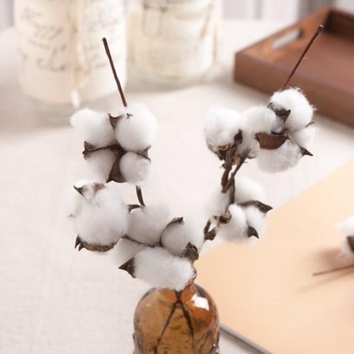 3송이목화가지 FAIAFT 조화 꽃 인테리어소품_(1461198)