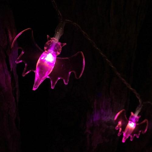어반 LED 할로윈 장식 소품 조명 박쥐 가랜드 무드등 10_(1388492)