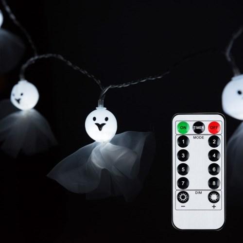 어반 LED 할로윈 장식 패브릭유령 20P 방수형