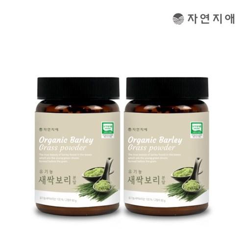 자연지애 유기농 새싹보리 분말 90gx2_(2693313)