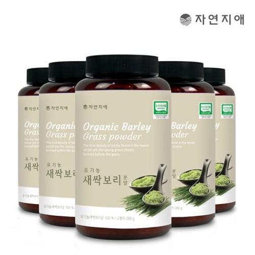 자연지애 유기농 새싹보리 분말 280gx5_(2693308)
