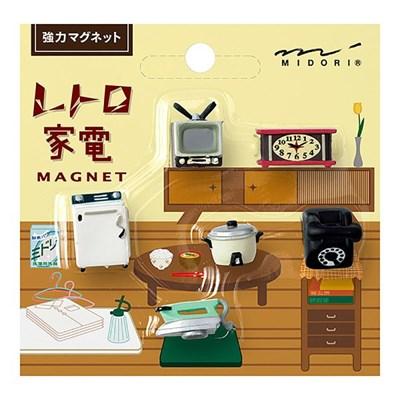 MINI MAGNET (6pcs) - 레트로가전