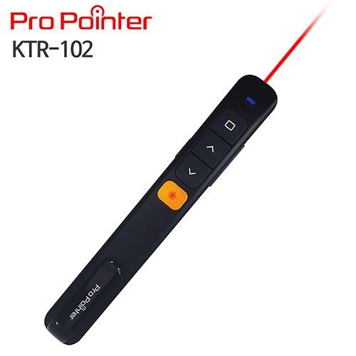 프로포인터 KTR102..BLACK 레이저포인터,,PPT무선프리젠터