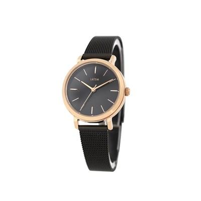 베이직 여성 메쉬 시계_블랙(AG2G9807MRPB)