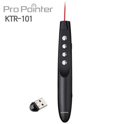 프로포인터 KTR101..BLACK// 레이저포인터,,PPT무선프리젠터
