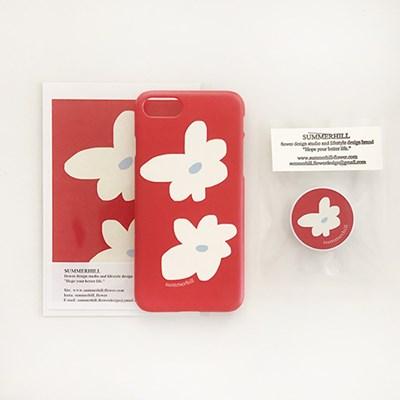 red flower case