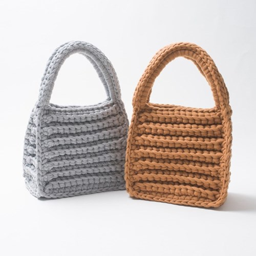 [DIY] 미스티코티타 팰린토트백 Fabric Yarn Faline Tot_(2780810)