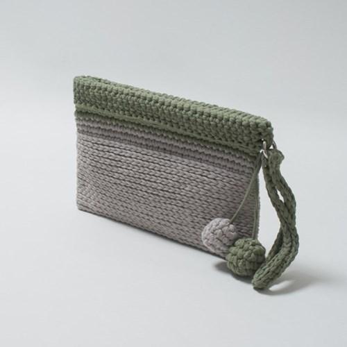 [DIY] 미스티코티타 심플바네클러치 Fabric yarn Simple_(2780803)