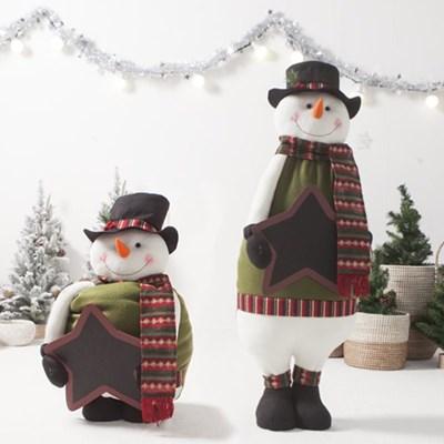 키크는 칠판눈사람105cm 트리 크리스마스 인형 TRDOLC_(1473225)
