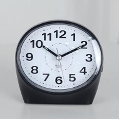 클래식 타원 알람 탁상시계 (블랙) 추카추카넷_(1222296)