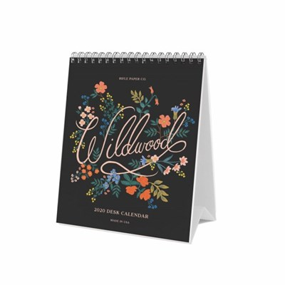2020 Wildwood Desk Calendar