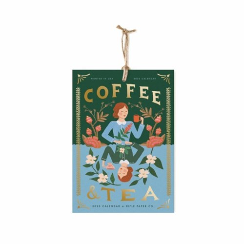 2020 Coffee & Tea Wall Calendar