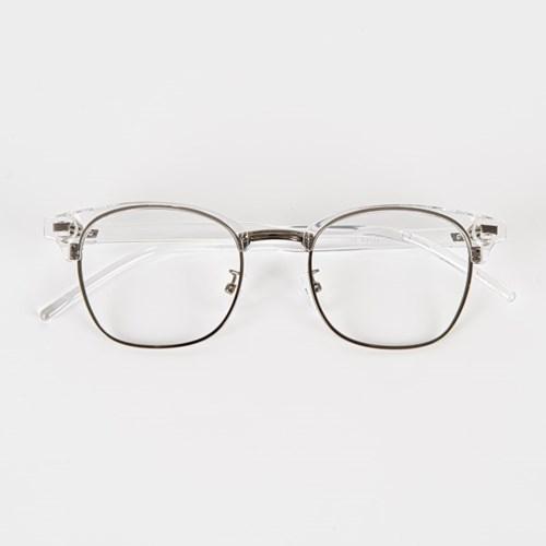 [SBKA]Naina-C02 투명 반뿔테안경