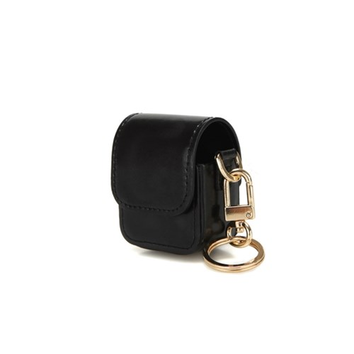 FENNEC LEATHER AIRPODS CASE - BLACK