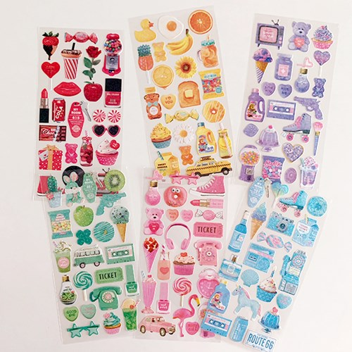 My Color Sparkle Sticker 마이컬러스파클스티커