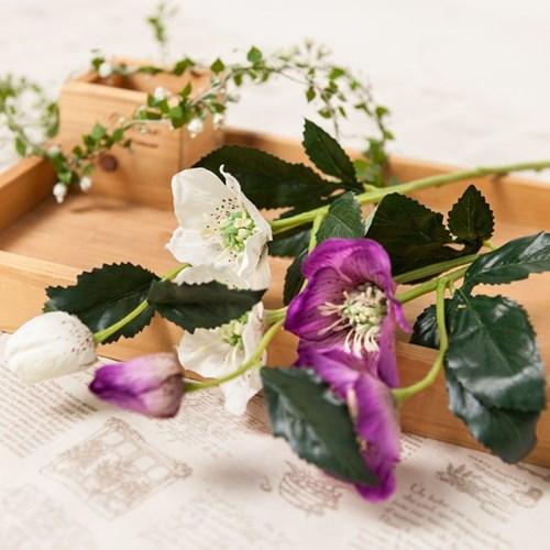 헬레보레스가지 (2색상) FAIAFT 조화 꽃 인테리어소품_(1511181)
