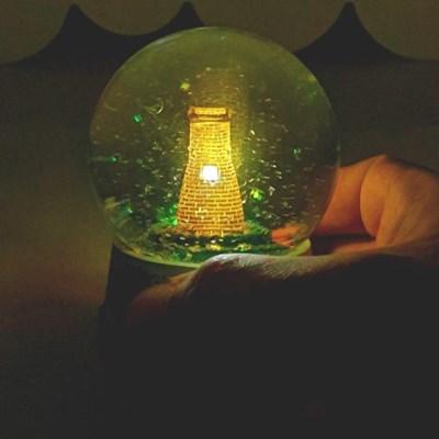 첨성대 LED 스노우볼