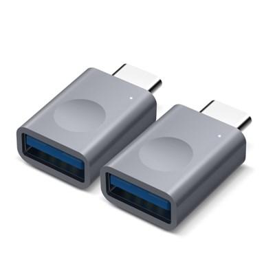 [엘라고] 알루미늄 USB C타입 LED 변환 어댑터 [2세트]