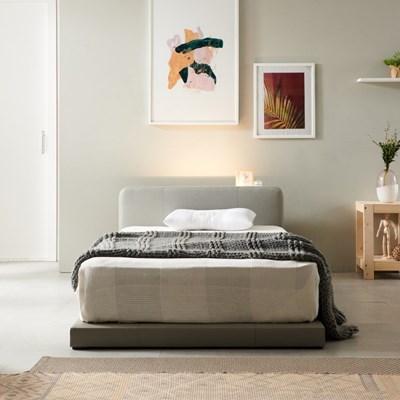 앨리스 LED 저상형 가죽 침대(매트제외-슈퍼싱글)