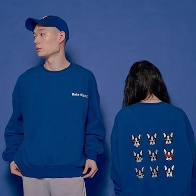 [기모]BOTE NINE SWEATSHIRT / BLUE