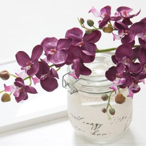 퍼플럭셔리호접란가지o 73cm FAIAFT 조화 꽃 인테리어_(1340359)