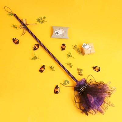 트윙클 마녀 빗자루-퍼플
