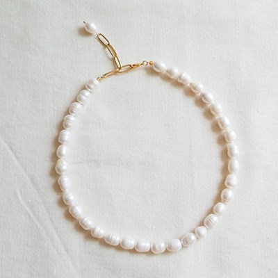Princess Pearl Necklace - 담수진주