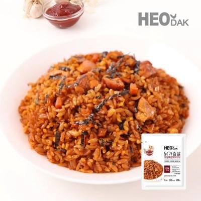 닭가슴살 닭갈비 곤약 볶음밥 250g + 비엔나 소시지 오리지널