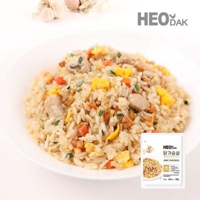 닭가슴살 갈릭 곤약 볶음밥 250g + 비엔나 소시지 오리지널