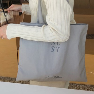 SLST logo bag ( grey )