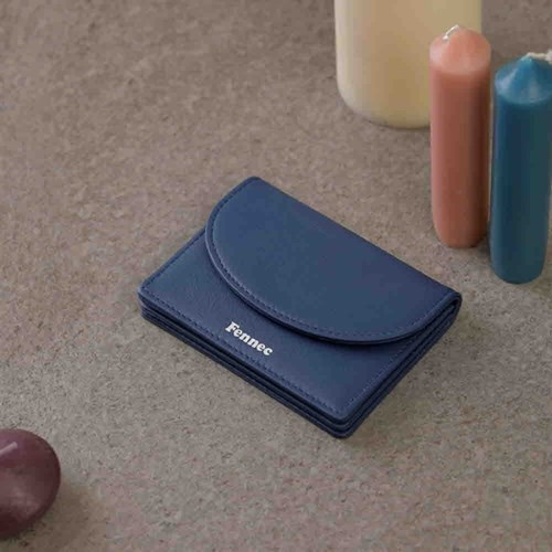 [11/25예약배송]FENNEC HALFMOON ACCORDION POCKET - DUSTY BLUE