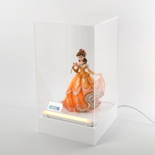 디즈니 스태츄용 조명 아크릴 진열장 v200wbl